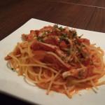 わたりがにのスパゲティ